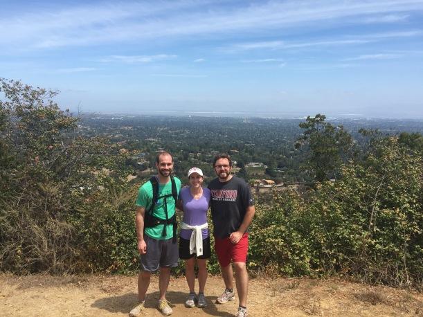 Hiking at Rancho San Antonio with Tyler Anderson.